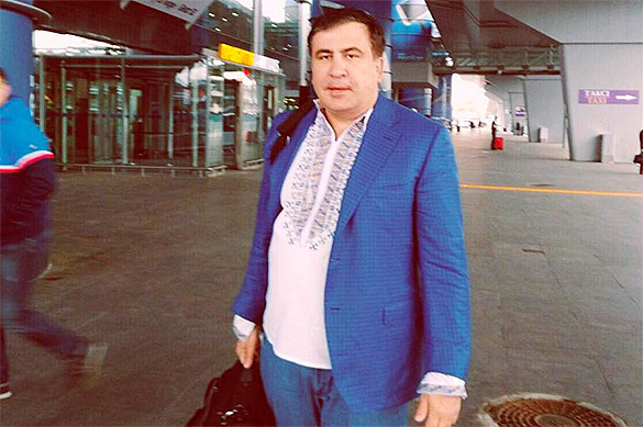 Саакашвили начинает вторжение на Украину. Саакашвили начинает вторжение на Украину