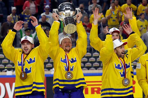 Шведы стали чемпионами мира по хоккею
