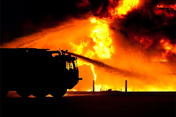 Киев заявил о неполной загруженности горевших складов под Винницей. Киев заявил о неполной загруженности горевших складов под Винниц