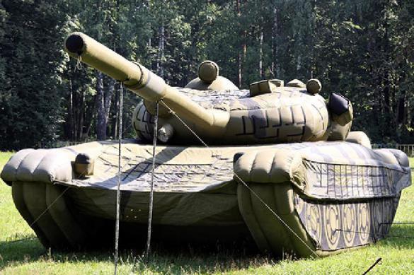 Великобритания возьмет на вооружение надувные танки. 388598.jpeg