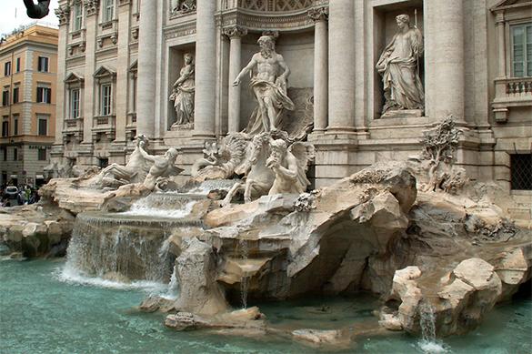 У фонтана Треви в Риме можно заработать полтора миллиона евро