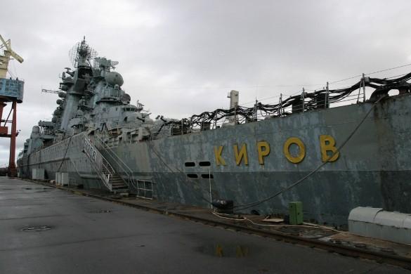 Монстра Северного флота отправляют в утиль. Атомный крейсер типа Орлан Киров