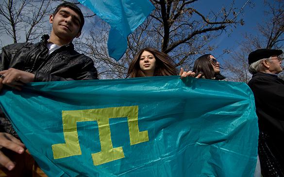 Конфликт. меджлис крымские татары крым