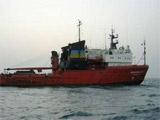 У берегов Курил терпит бедствие судно