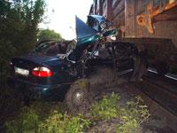 Роковой переезд: автомобиль Верховного судьи попал под поезд