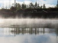 Из-за тумана в Якутии столкнулись два парома