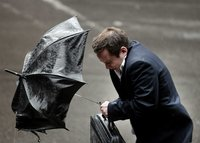Осенняя депрессия добралась до большинства жителей РФ. rain