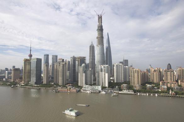 Операция Ы: подвинуть Китай на мировом рынке. Шанхайская башня
