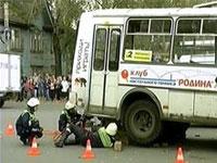 Автобус насмерть сбил женщину в Москве