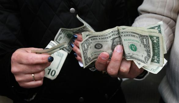 Доллар стал стоит 68 рублей