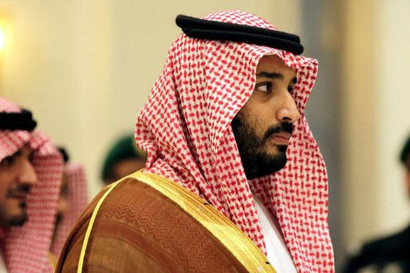 Президент Ильхам Алиев поздравил наследного принца Саудовской Аравии