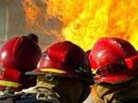 Огонь уничтожил склад с дисками в Оренбурге