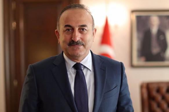 Министр иностранных дел Турции изучает иностранные языки и шутит с Путиным на русском. 400609.jpeg