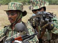 На Шри-Ланке все мирные жители сумели вырваться из зоны боев