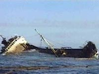 У берегов Катара затонул корабль с пассажирами