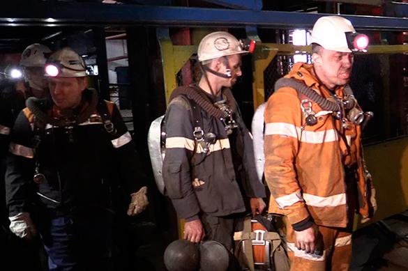 """На руднике """"Мир"""" прекратили поиск пропавших. На руднике Мир прекратили поиск пропавшихф"""