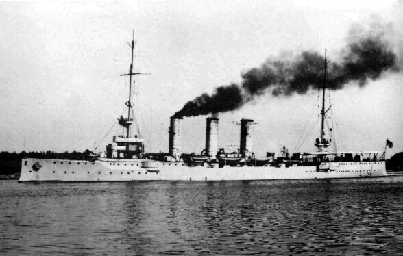Немецкий крейсер начала XX века нашли у Курильской гряды. Немецкий крейсер начала XX века нашли у Курильской гряды