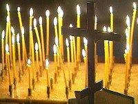 Украинцы молятся о прекращении эпидемии гриппа
