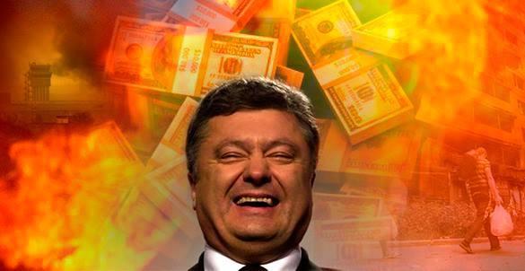 BBC: За год президентства Порошенко семикратно обогатился.