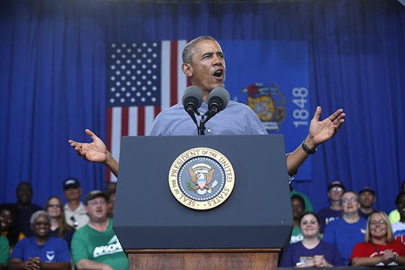 Обама оказался в роли не хромающей, а подбитой утки - американист.