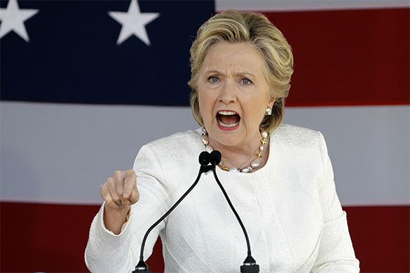 Клинтон сравнила свое поражение с 11 сентября. Клинтон сравнила свое поражение с 11 сентября