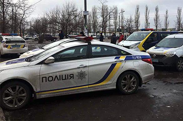 В Киеве на территории детского сада взорвался шарик