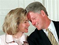 Хиллари Клинтон знала всех любовниц мужа по имени