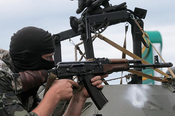 ВСУ размещает тяжелое вооружение на линии соприкосновения с ЛНР