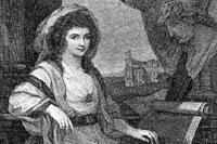 Анна Амалия во время путешествия в Рим в 1780 г.