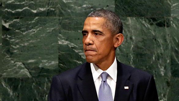 Обама: Удивлен тем, что Россия медлила с продажей оружия Ирану. Барак Обама