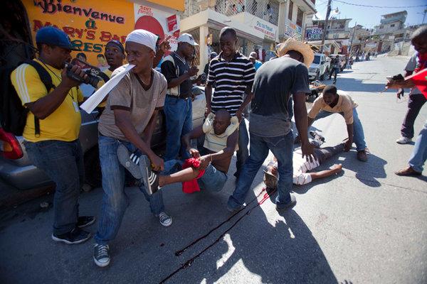 Манифестанты в Гаити просят защиты у Владимира Путина. 306618.jpeg