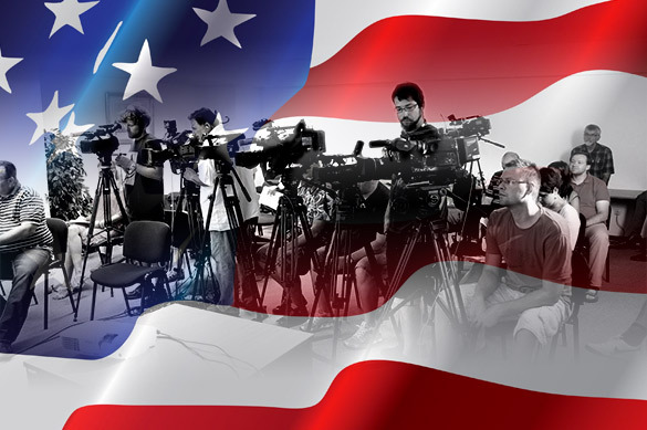 Захарова сообщила об интеллектуальной агонии американских СМИ