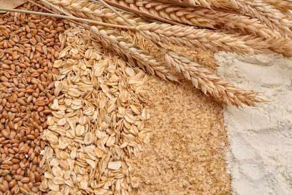 Пшеничное питание. хлопья из зародышей пшеницы