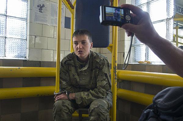 Савченко в  тюрьме объявила голодовку. 306620.jpeg