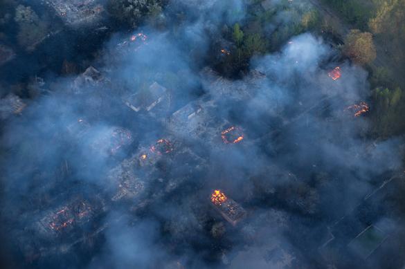 Чернобыль в огне: Пожар у АЭС признан критическим. Чернобыль в огне