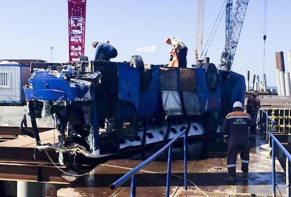 Тело последнего погибшего в ДТП на Кубани нашли спасатели. Тело последнего погибшего в ДТП на Кубани нашли спасатели