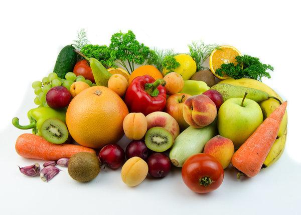 Диета апреля. овощи и фрукты