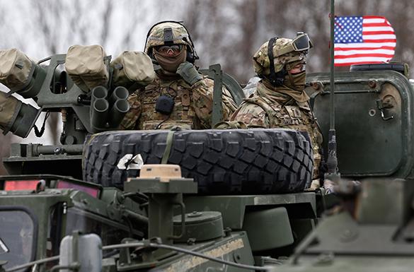 45% американцев считают, что учения ВС США направлены на захват власти. армия, военные, сша, солдат