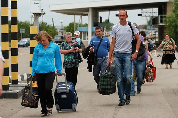 ВМИД Украины хотят разрешить заезд россиянам только побиометрическим паспортам