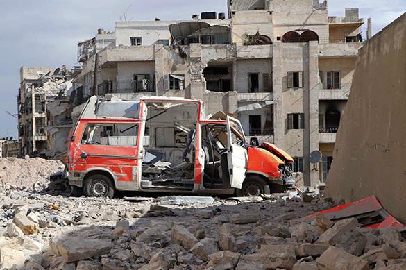 В Сирии жертвами авиаудара коалиции США стали десять местных жителей. 372625.jpeg
