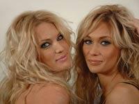 Блондинки устроили парад в центре Риги