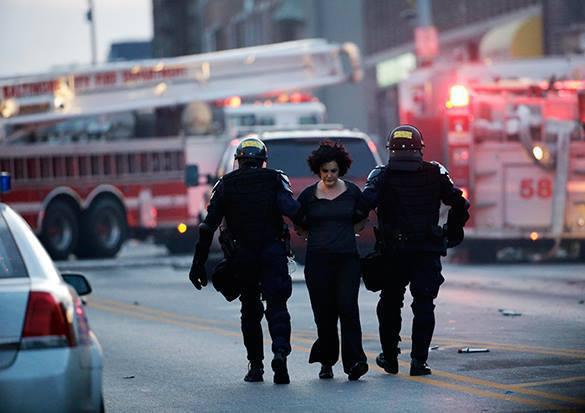 Протестующие в Балтиморе разошлись по домам,  полицией  задержано 10 человек. 318627.jpeg