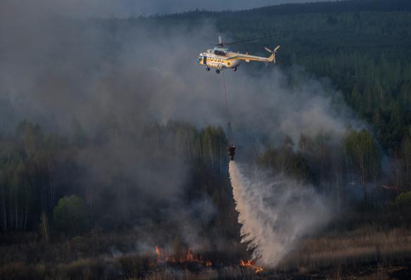 На Украине заявили, что радиация после пожара - в норме. Также сообщали и о