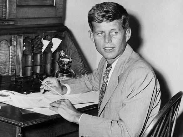 Дневник Джона Кеннеди с восхвалениями Гитлера уйдет с молотка