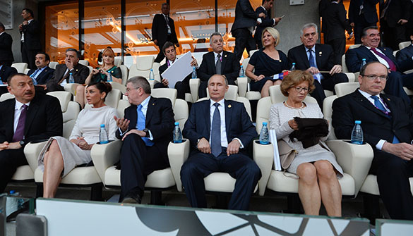 В Баку состоялась церемония открытия первых Европейских игр. Открытие Европейских игр в Баку