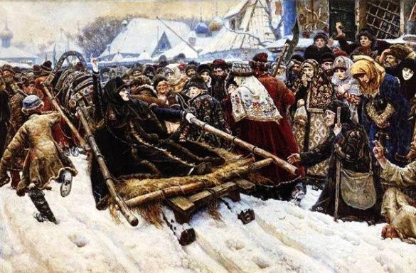 Российская империя поднялась на раскольниках