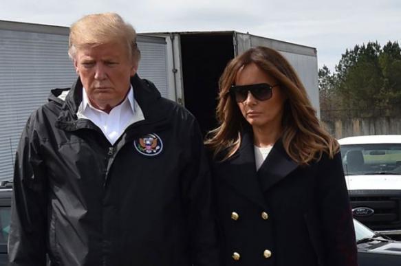 """Трамп раскритиковал американские СМИ за находку """"двойника"""" первой леди. 400631.jpeg"""