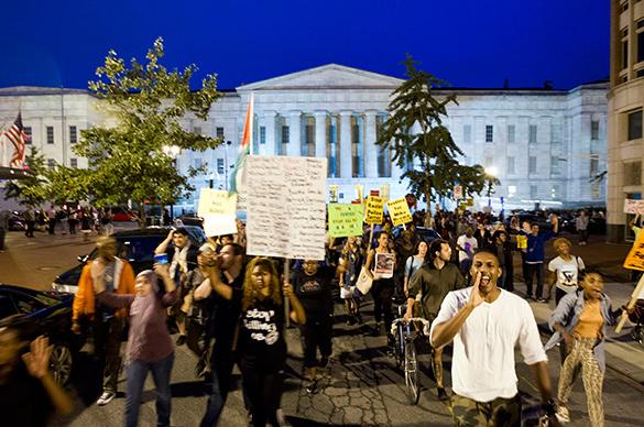 Фергюсон добрался до Вашингтона. Акции протеста начались в сердце США. Фергюсон,протесты,Вашингтон