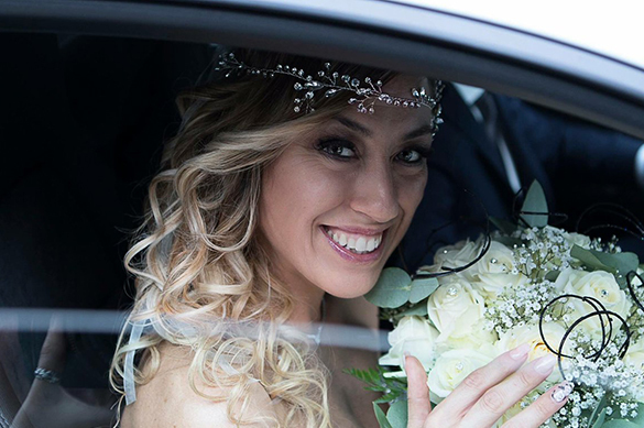 Итальянка вышла замуж сама за себя. Итальянка вышла замуж сама за себя