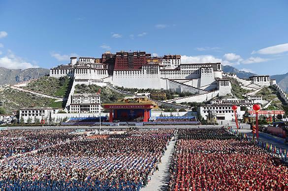 Китай установил в Тибете новое оборудование для кремации. Китай установил в Тибете новое оборудование для кремации
